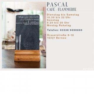 Flammerie Pascal Templade (Unterseite) Design von Marie du Vinage